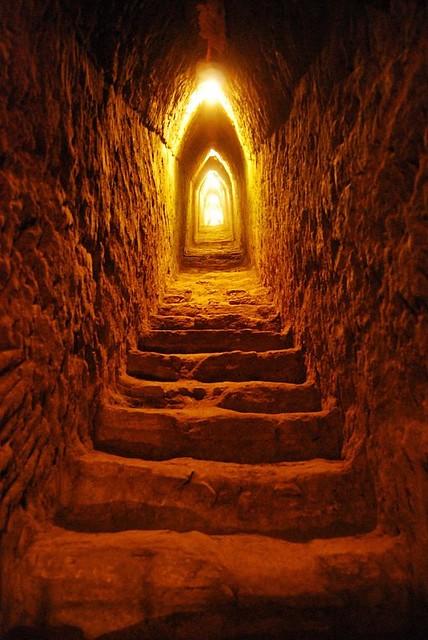 Escalera de la Piramide de Cholula, Mexico | Flickr