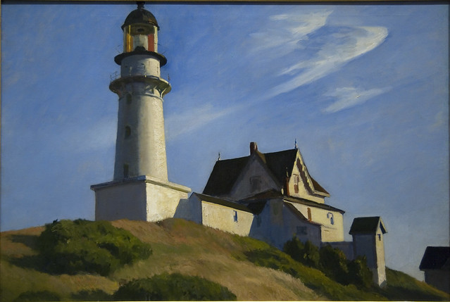 The Lighthouse at Two Lights, 1929