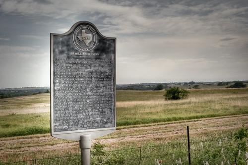 vintage geotagged texas unitedstates decatur historicalmarker hdr photomatix tonemapped 2ev tthdr geo:lat=33244452 geo:lon=97500009