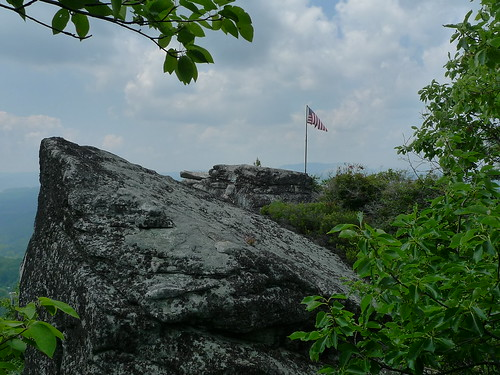 rock high flag knob overlook