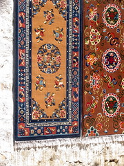 design(0.0), flooring(0.0), tapestry(1.0), art(1.0), textile(1.0), prayer rug(1.0), carpet(1.0),