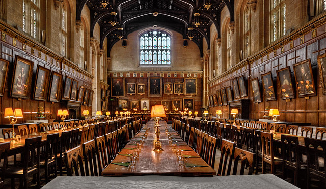 Dining Hall at Oxford