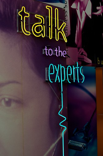 Talk To The Experts by Jeremy Brooks
