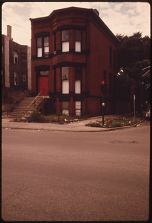 Abandoned House on the North Side of Chicago ... 08/1974
