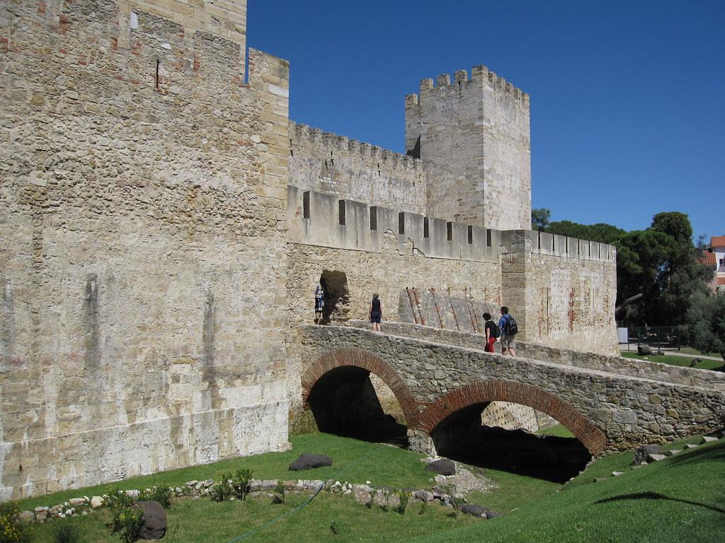 Entrance to Castelo de São Jorge