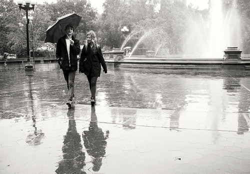 """""""Holding an Umbrella in Style"""" by Sion Fullana"""