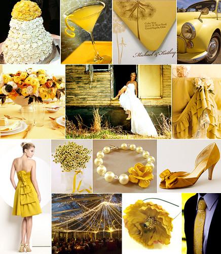 Mustard Yellow Wedding Inspiration