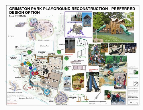 Demolition underway to make room for new grimston park for Seesaw plans designs