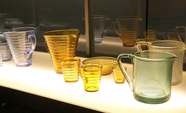 El vaso de Aino Aalto para Iitala