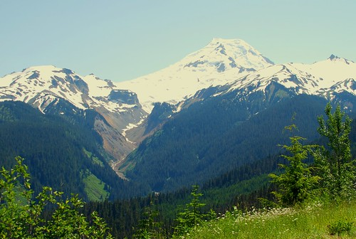 mountain snow beautiful landscape pacificnorthwest mtbaker icecap