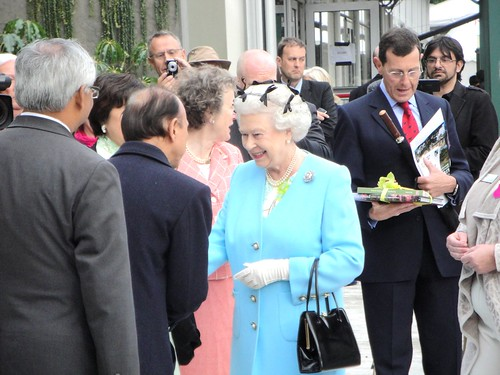 HRH Queen Elizabeth II at Chelsea