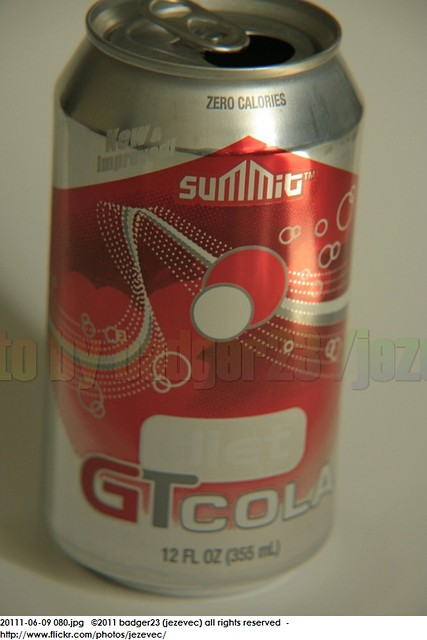 Aldi Soft Drink Cans