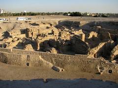 Excavation next to Bahrain Fort