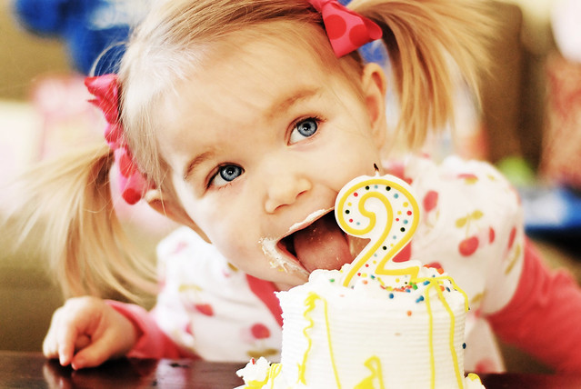 I ♥ Sweet Little Silly Cute Messy Celebratory Two Year Old Blue-Eyed Faces-Blurb Book Photo Contest