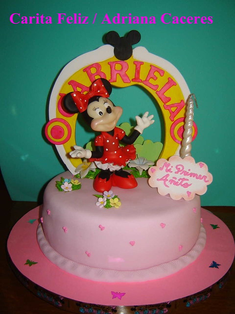TORTA DE MINNIE MOUSE | Flickr - Photo Sharing!