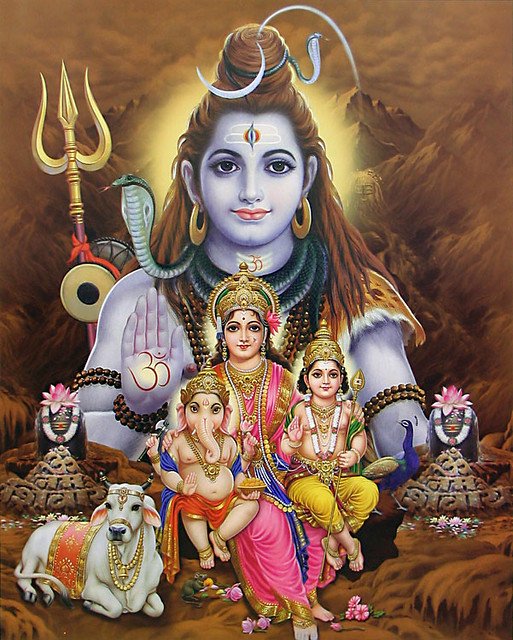 Lord Shiva Family Wallpapers Lord Shiva With His Family