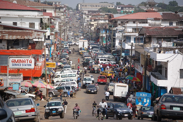 Downtown Monrovia