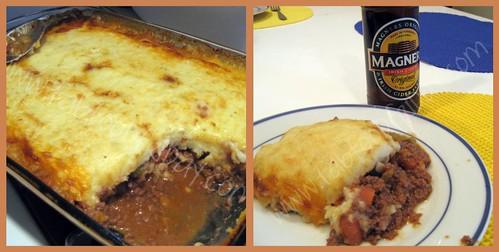 Irish recipes: Cheddar-topped Shepherd's Pie