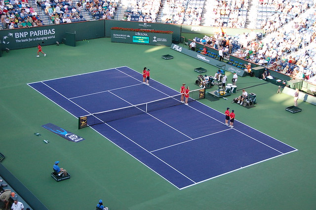 Court 1 Indian Wells Tennis Garden Flickr Photo Sharing