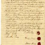 Indenture signed by Silas Deane (2)
