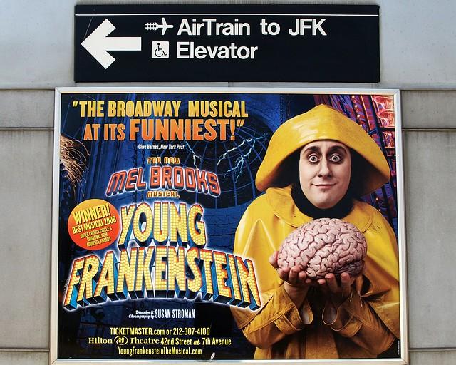 YOUNG FRANKENSTEIN Broadway Musical Poster, Howard Beach