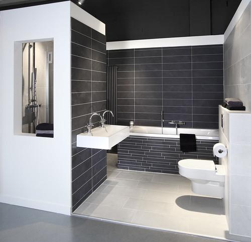 Badkamer design wit badkamer ontwerp idee n voor uw huis samen met meubels die het - Deco badkamer natuur ...