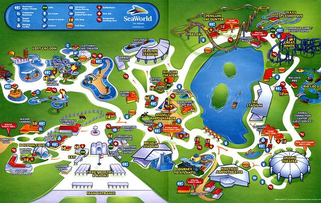 Sea World San Antonio Map | Flickr - Photo Sharing!