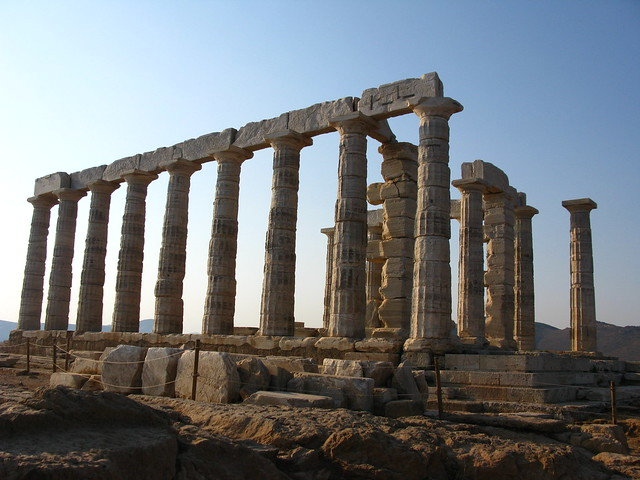 Temple of Poseidon, Sounio, Greece  Flickr - Photo Sharing!