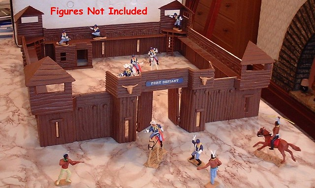 Timpo Wild West Fort Defiant | Timpo Wild West figures for ...