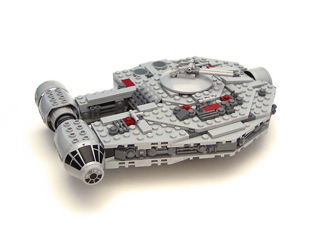 how to make a lego star wars mini millennium falcon