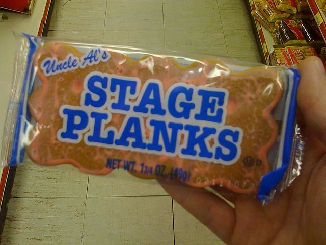 stage planks | the official cookie of Hoots and Hellmouth | By ...