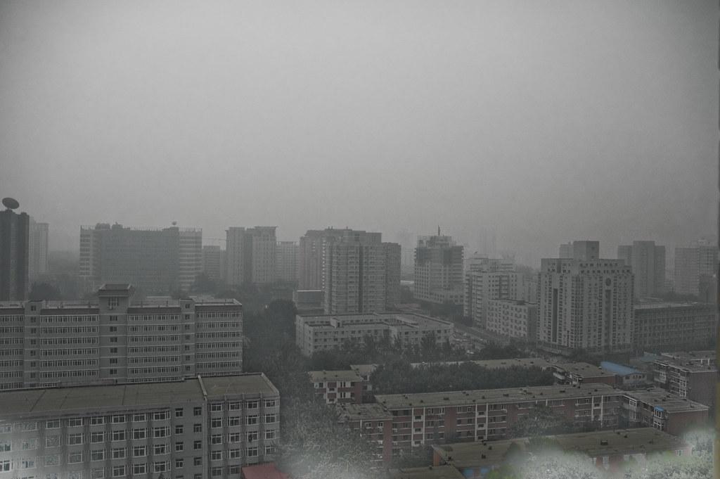 Beijing has smog