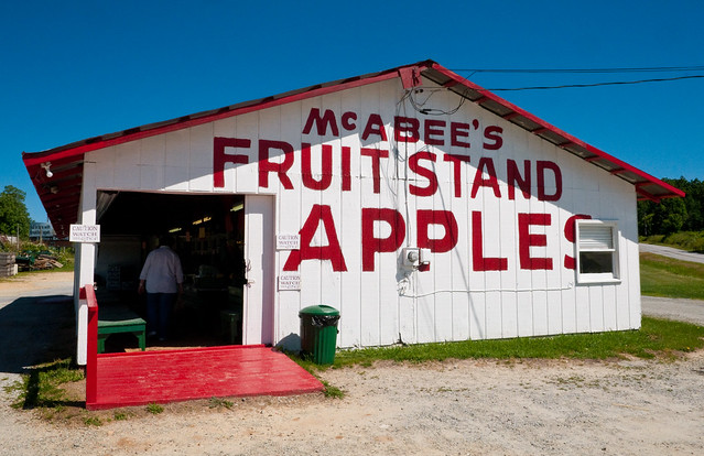 Mcabee S Fruit Stand Exit 53 Interstate 26 Flat Rock