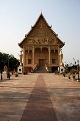 Temple next to Pha That Luang, Vientiane, Laos