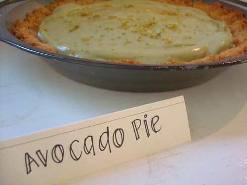 Avocado Pie from Curio Confections Pie-Off