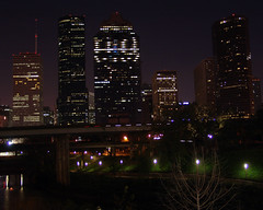 Downtown from Sabine Street