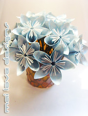Paper Ribbon 21 Photos | Origami Flower 10 | 838