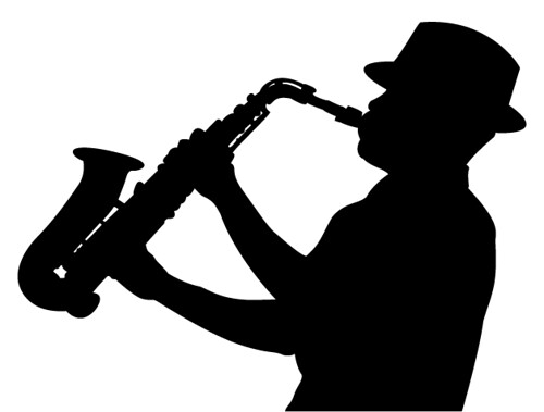sax player silhouette | Flickr - Photo Sharing!
