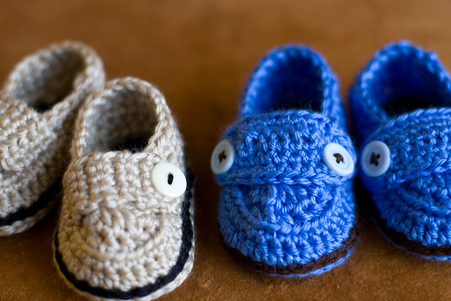 Invitation Only Dress Shoe Booties For Baby Boy Crochet Pattern