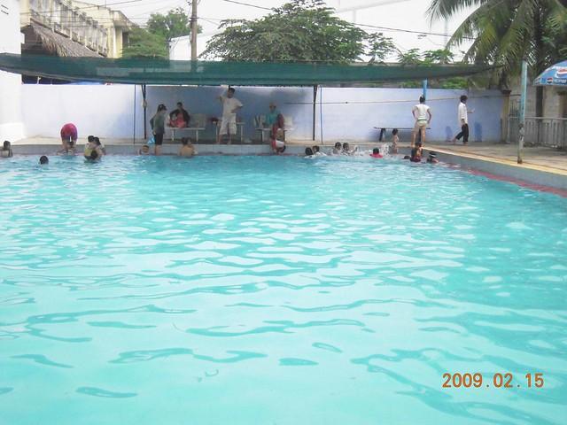 Swimming pool in vietnam flickr photo sharing for Garden pool hanoi