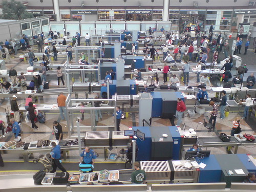 security screening at denver airport