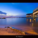 """A wood on the Beach on Blue"" :: Changi Beach Singapore DRI"