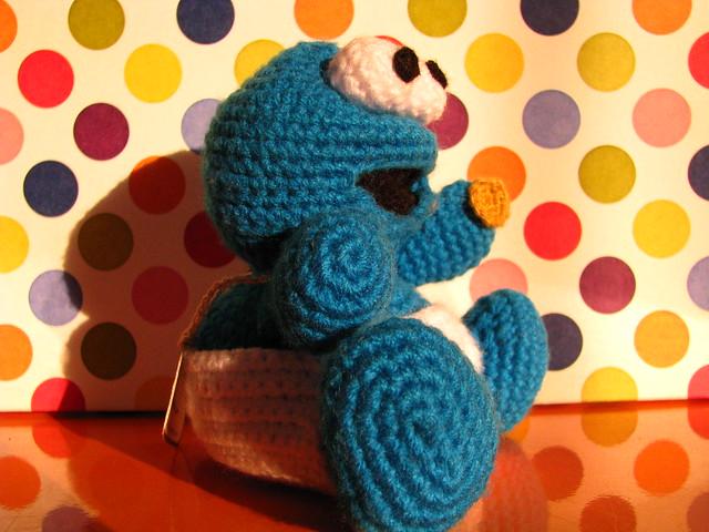 Amigurumi Cookie Monster : Flickriver: Random photos from my picuu