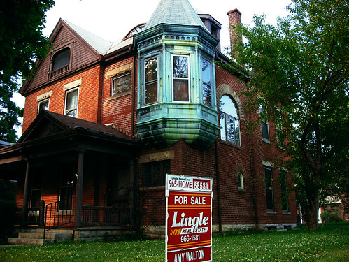 old brick mansion for sale in the historic ghetto