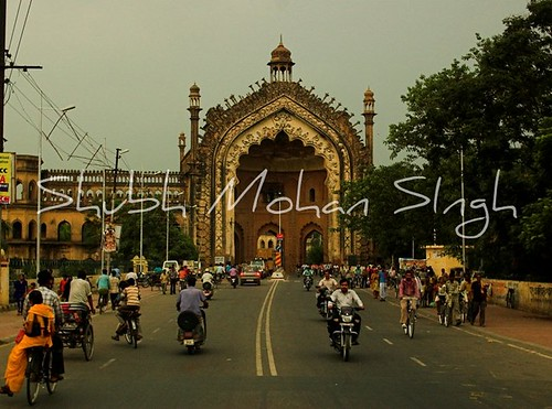 india architecture gate alone arch architecure lucknow islamic oudh d40 awadh