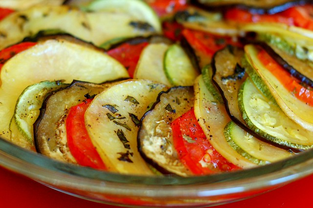 Vegetable tian by Eve Fox, Garden of Eating blog