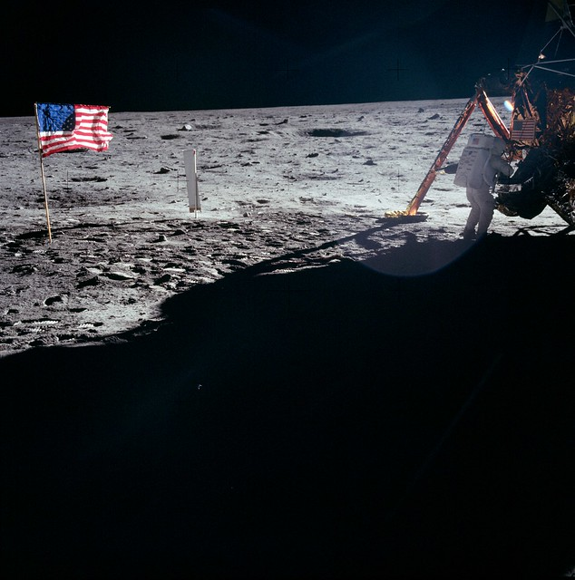 Neil Armstrong on the Moon - July 20, 1969