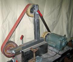 """Homebuit 72"""" x 2"""" belt grinder"""