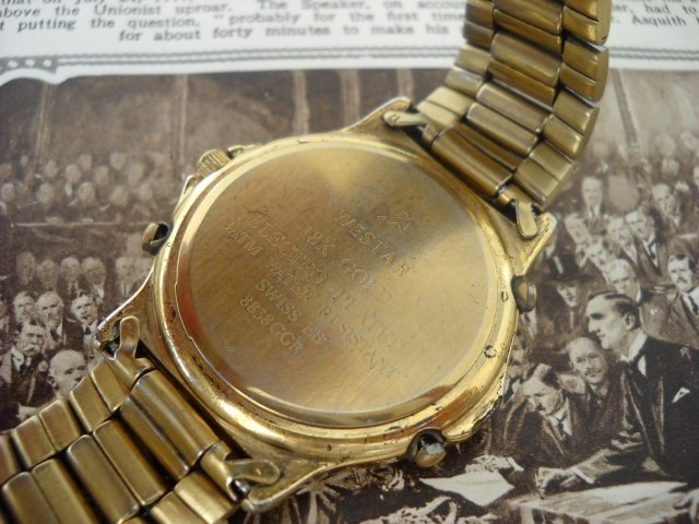 Westar Watches Gold