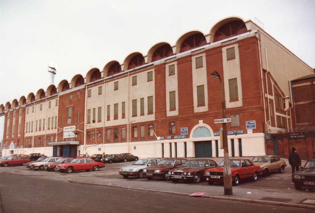 Main Stand, Maine Road Stadium 1985